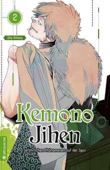 Sho Aimoto: Kemono Jihen - Gefährlichen Phänomenen auf der Spur 02, Buch