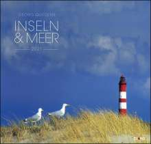 Inseln & Meer 2020 - Großformatkalender, Diverse