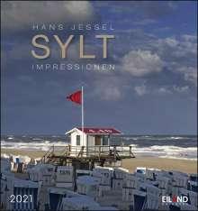 Sylt-Impressionen 2020 - Postkartenkalender, Diverse
