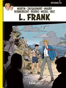 Jacques Martin: L. Frank Integral 8, Buch