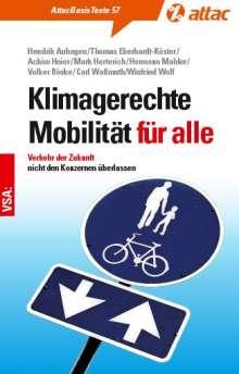Hendrik Auhagen: Klimagerechte Mobilität für alle, Buch