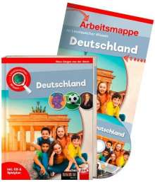Hans-Jürgen van der Gieth: Leselauscher Wissen: Deutschland (inkl. CD & Spielplan). Set, Buch