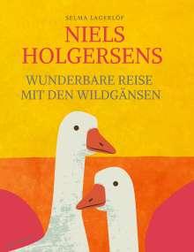 Selma Lagerlöf: Niels Holgersens wunderbare Reise mit den Wildgänsen, Buch