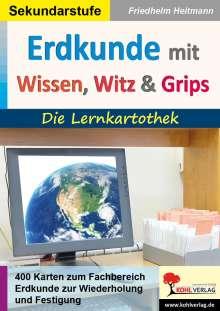 Friedhelm Heitmann: Erdkunde mit Wissen, Witz & Grips, Buch