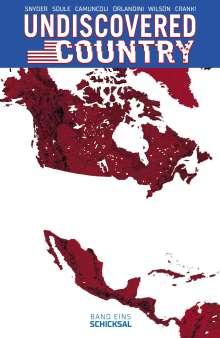 Scott Snyder: Undiscovered Country 1, Buch