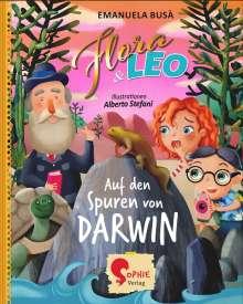Emanuela Busà: Flora & Leo auf den Spuren von Darwin, Buch