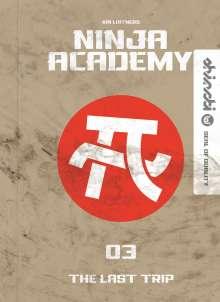 Kai Lüftner: Ninja Academy 3, Buch