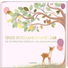 Pia Loewe: Babyalbum - UNSER ERSTES GEMEINSAMES JAHR (rosé), Buch