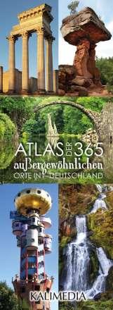 Stephan Hormes: Atlas der 365 außergewöhnlichen Orte in Deutschland, Diverse