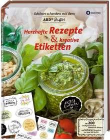 Schöner Schenken mit dem ARD Buffet - Herzhafte Rezepte und kreative Etiketten, Buch