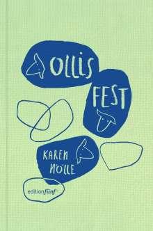 Karen Nölle: Ollis Fest, Buch