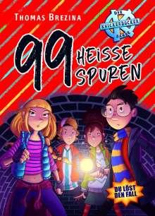 Thomas Brezina: 99 heiße Spuren, Buch