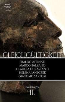Eraldo Affinati: Gleichgültigkeit (II), Buch