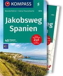 Klaus Harnach: Jakobsweg Spanien, Buch