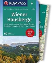Werner Heriszt: KOMPASS Wanderführer Wiener Hausberge, Buch
