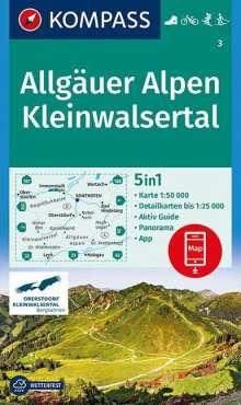 Allgäuer Alpen, Kleinwalsertal 1:50 000, Diverse