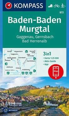 Baden-Baden, Murgtal, Gaggenau, Gernsbach, Bad Herrenalb 1:25 000, Diverse