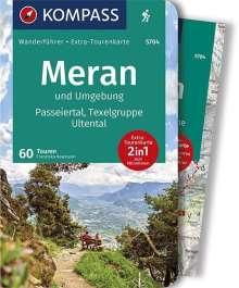 Franziska Baumann: Meran und Umgebung, Passeiertal, Texelgruppe, Ultental, Buch