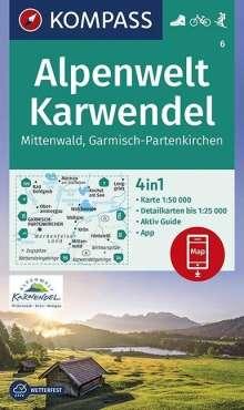 Alpenwelt Karwendel Mittenwald, Garmisch-Partenkirchen 1:50 000, Diverse