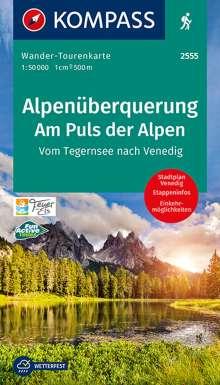 Alpenüberquerung, Am Puls der Alpen 1:50 000, Diverse