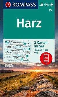 KOMPASS Wanderkarte Harz 1 : 50 000, Diverse