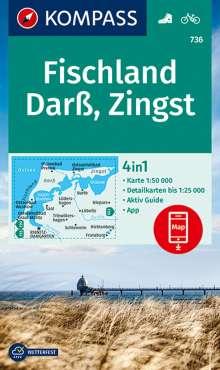 Fischland, Darß, Zingst 1:50 000, Diverse