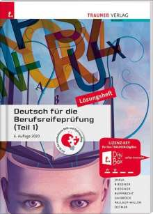 Amar Jhala: Deutsch für die Berufsreifeprüfung (Teil 1) Lösungsheft, Buch