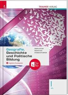 Manfred Derflinger: Geografie, Geschichte und Politische Bildung I HTL + digitales Zusatzpaket, Buch