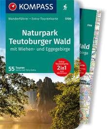 Sylvia und Thilo Behla: KOMPASS Wanderführer Naturpark Teutoburger Wald mit Wiehen- und Eggegebirge, Buch