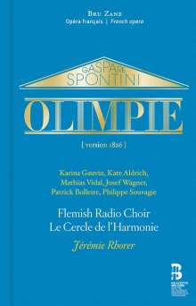 Gaspare Spontini (1774-1851): Olympie, 2 CDs