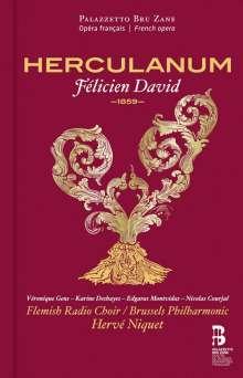 Felicien Cesar David (1810-1876): Herculanum, 2 CDs