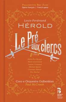 Louis Joseph Ferdinand Herold (1791-1833): Le Pre Aux Clercs, CD
