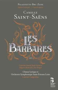 Camille Saint-Saens (1835-1921): Les Barbares (CDs & Buch), 2 CDs