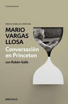 Mario Vargas Llosa: Conversación en Princeton, Buch