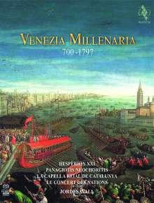 Hesperion XXI - Venezia Millenaria 700-1797 (Deluxe-Version im Buchformat), 2 Super Audio CDs