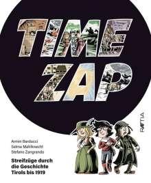 Armin Barducci: Time Zap, Buch