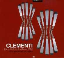 Muzio Clementi (1752-1832): Klaviersonaten zu 4 Händen, CD