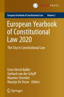 European Yearbook of Constitutional Law 2020, Buch