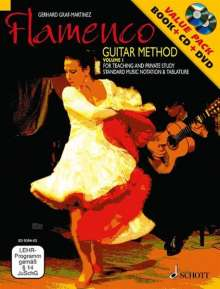 Gerhard Graf-Martinez: Flamenco Guitar Method, Noten