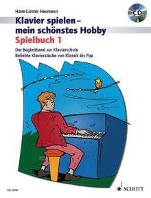 Hans-Günter Heumann: Spielbuch 1. Klavier. Lehrbuch mit CD, Noten