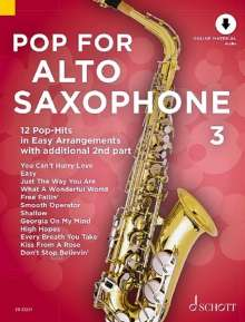 Pop For Alto Saxophone 3, Noten
