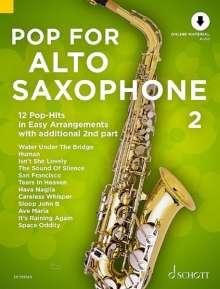 Pop For Alto Saxophone 2, Noten
