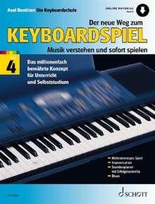 Axel Benthien: Der neue Weg zum Keyboardspiel, Noten