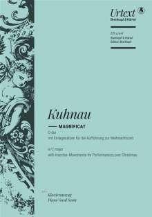 Johann Kuhnau: Magnificat C-Dur, Noten