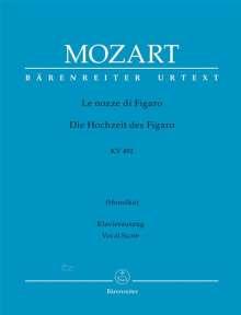 Le nozze di Figaro (Die Hochzeit des Figaro) KV 492, Noten