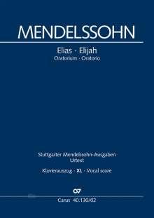 Felix Mendelssohn Bartholdy: Elias (Klavierauszug XL), Noten