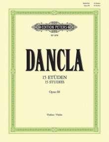 Charles Dancla: 15 Etüden für Violine mit Begleitung einer zweiten Violine op. 68, Noten