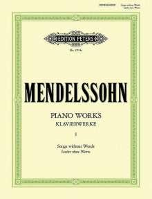 Felix Mendelssohn Bartholdy: Klavierwerke, Band 1: Lieder ohne Worte, Noten