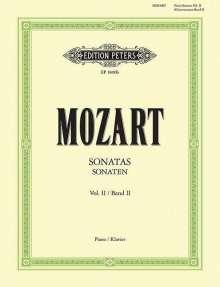 Wolfgang Amadeus Mozart: Sonaten für Klavier, Band 2, Noten