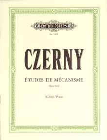 Carl Czerny: Études de Mécanisme op. 849, Noten